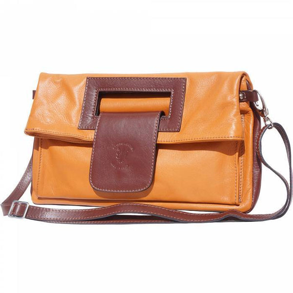 Made in Tuscany 'Giuliana' Leather Cross-body Bag