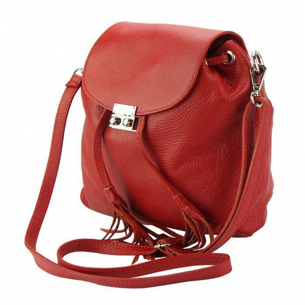 Made In Tuscany 'Bougainvillea' Leather Backpack Backpack Made in Tuscany