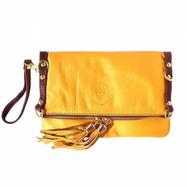 Made in Tuscany ' Giorgia GM' Leather Cross-Body Bag