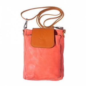 Made in Tuscany 'Stella' Leather Cross-body Handbag