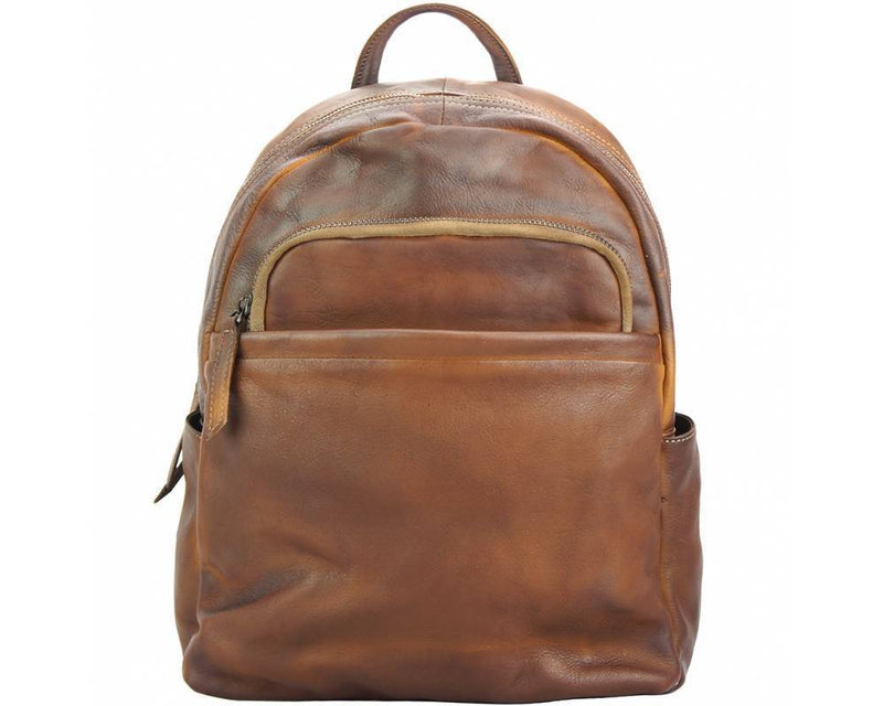 Made In Tuscany 'Jake' Leather Backpack Backpack Made in Tuscany Brown