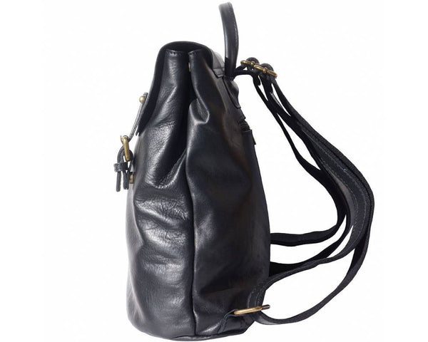 Made In Tuscany 'Vara' Leather Backpack Backpack Made in Tuscany