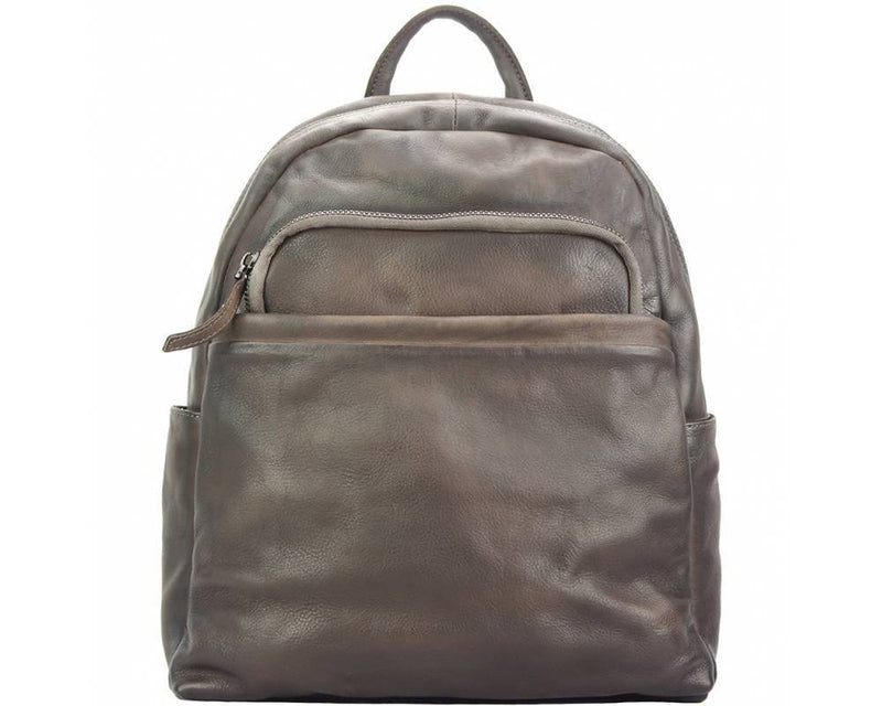 Made In Tuscany 'Jake' Leather Backpack Backpack Made in Tuscany Dark Brown