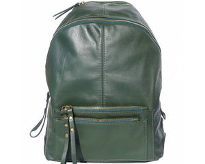 Made In Tuscany 'Springs' Soft Italian Leather Backpack - Special Offer Backpack Made in Tuscany Green