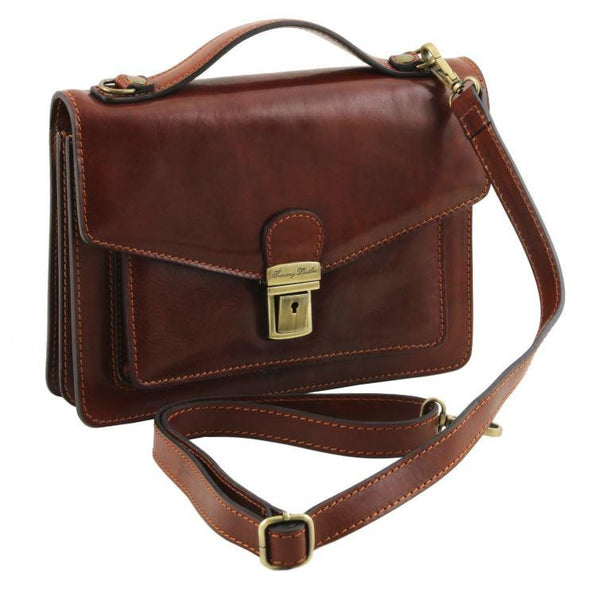 Tuscany Leather 1st Class 'Eric' Leather Briefcase Briefcase Tuscany Leather