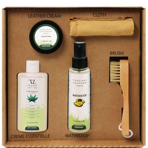 Tuscany Leather Complete Eco Friendly Leather Care Kit Accessories Tuscany Leather