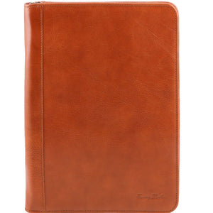 Tuscany Leather 1st Class 'Luigi Xiv' Leather Portfolio Document Case Leather Document/Portfolio Case Tuscany Leather Honey
