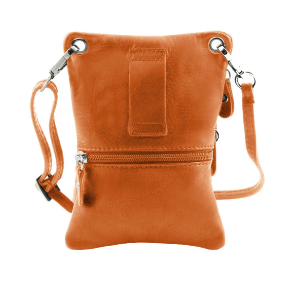 Tuscany Leather 'TL Bag' Crossbody Mini Messenger Bag - Made in Tuscany