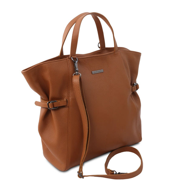 Tuscany Leather 'TL Bag' Soft leather shopping bag