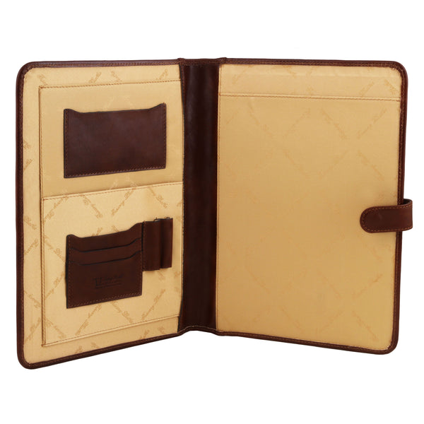 Tuscany Leather 'Adriano' Exclusive Leather Document Case Leather Document/Portfolio Case Tuscany Leather