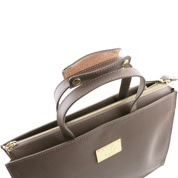 Tuscany Leather 1st Class 'Palermo' Saffiano Leather Briefcase Laptop Briefcase Tuscany Leather