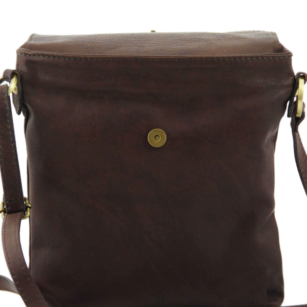 Tuscany Leather Classic 'Morgan' Men's Leather Messenger Crossover Bag Messenger Bag Tuscany Leather