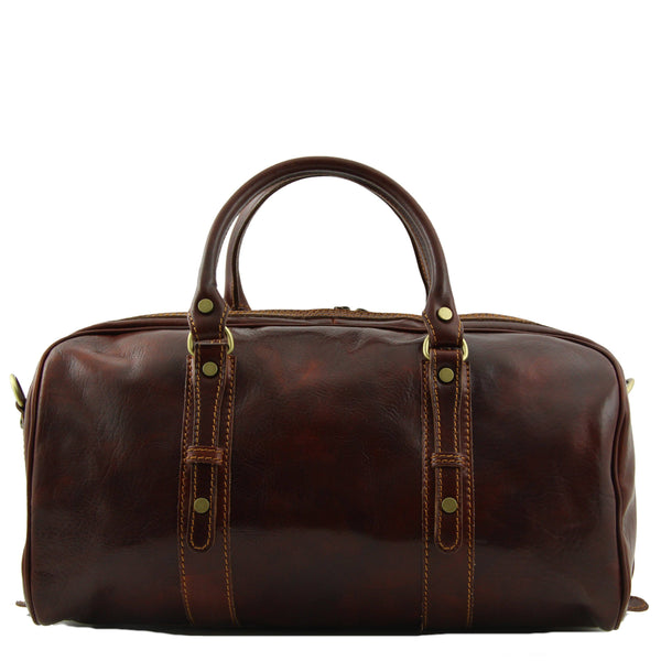 Tuscany Leather 'Francoforte' Exclusive Leather Travel Bag (Small) Duffle Bag Tuscany Leather