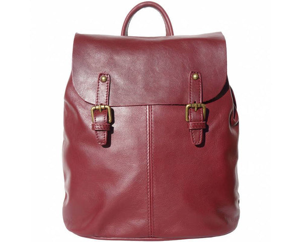 Made In Tuscany 'Vara' Leather Backpack Backpack Made in Tuscany Bordeaux