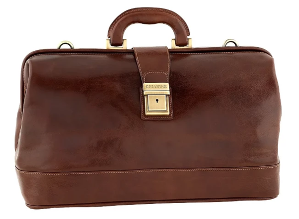 Original Tuscany 'Mercalli' Full Grain Leather Doctor Bag