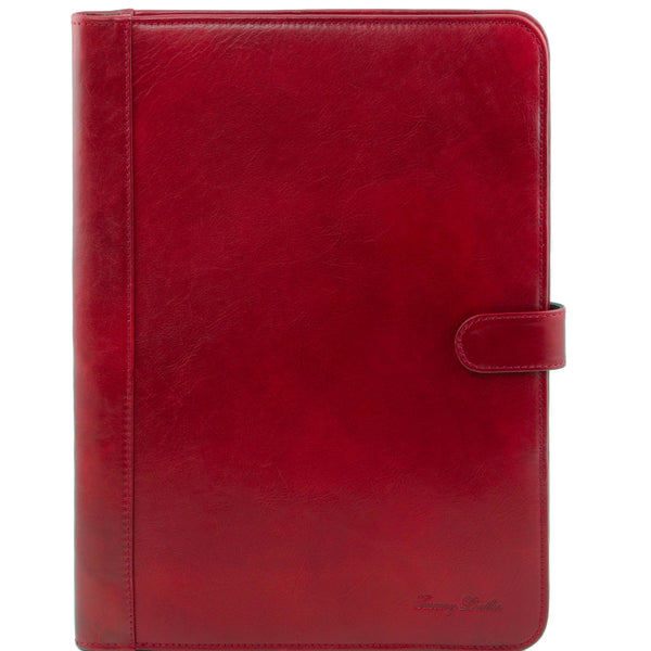 Tuscany Leather 'Adriano' Exclusive Leather Document Case Leather Document/Portfolio Case Tuscany Leather Red