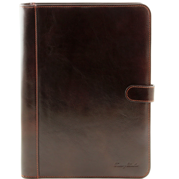 Tuscany Leather 'Adriano' Exclusive Leather Document Case Leather Document/Portfolio Case Tuscany Leather Dark Brown