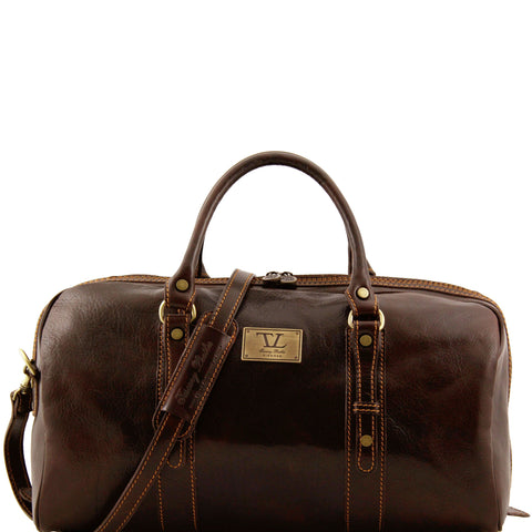 Tuscany Leather 'Francoforte' Exclusive Leather Travel Bag (Small)