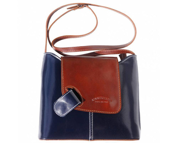 Made in Tuscany 'Patent' Leather Shoulder Bag