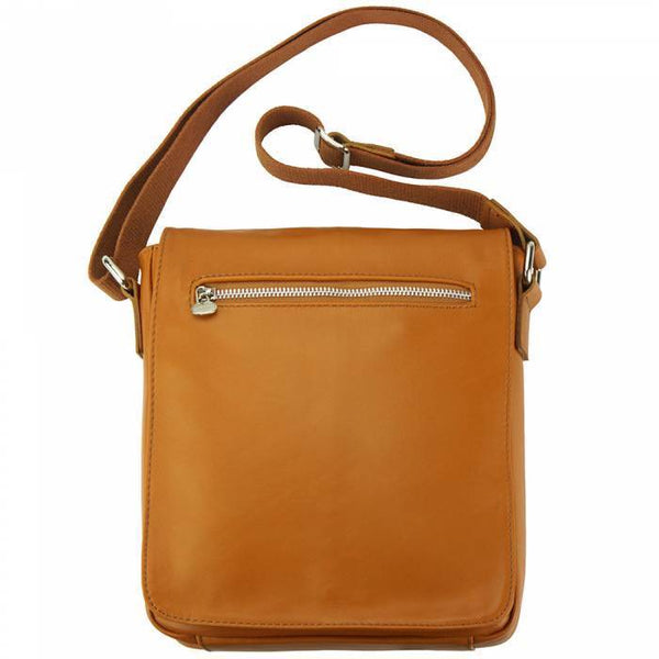Made In Tuscany 'Camillo' Gm Leather Messenger Bag Messenger Bag Made in Tuscany Tan