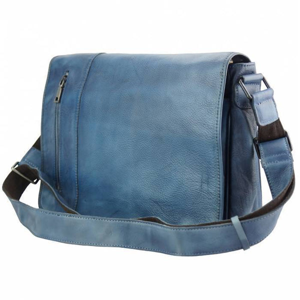 Made In Tuscany 'Grigori' Leather Messenger Bag Messenger Bag Made in Tuscany