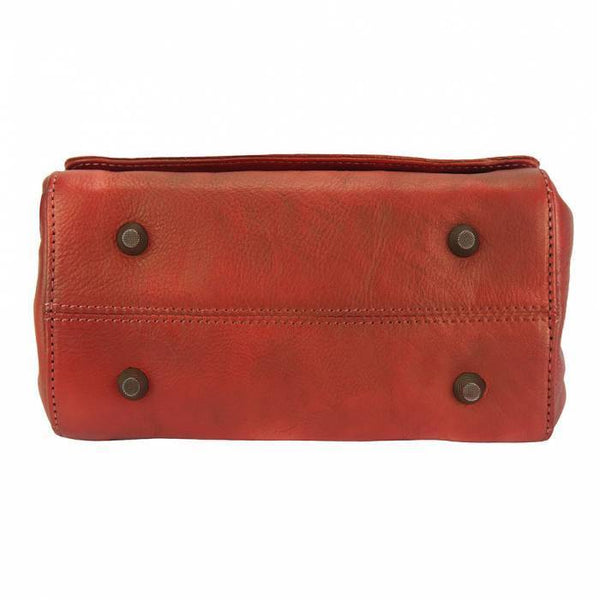 Made in Tuscany 'Livio' Leather Cross-body Bag