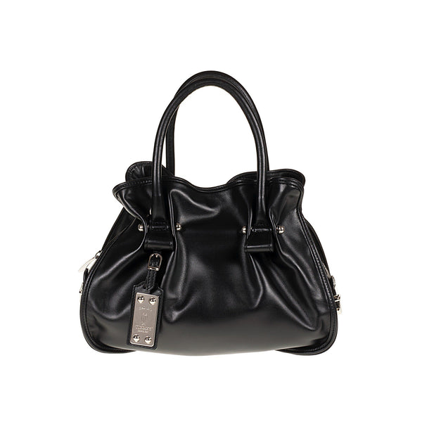 Tuscans 'Elegant Purse With Removable Shoulder Strap' Bag Handbag Tuscans Black