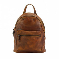 Made In Tuscany 'Teresa' Leather Backpack Backpack Made in Tuscany Tan