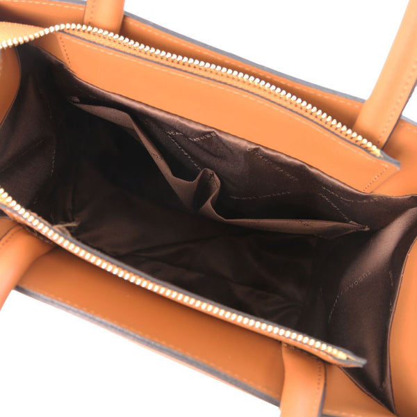 Tuscany Leather 'Medea' Leather Vertical Tote Handbag