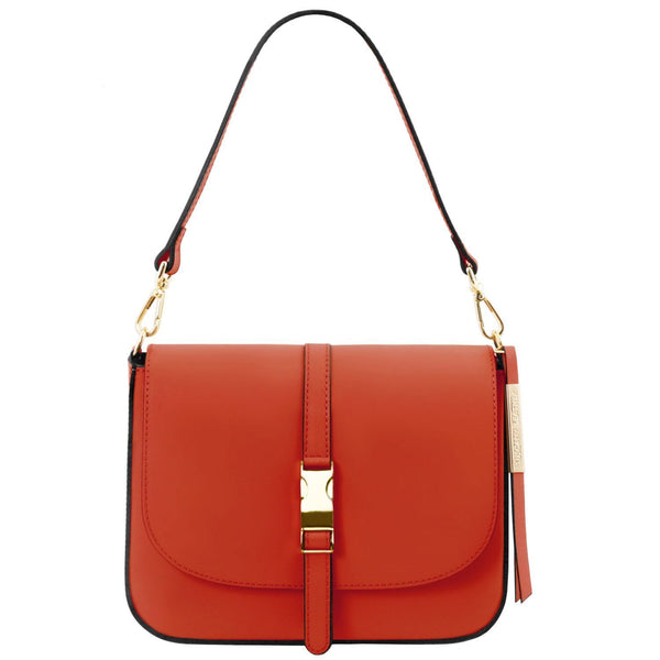 Tuscany Leather 'Nausica' Leather Shoulder Bag (TL141598)