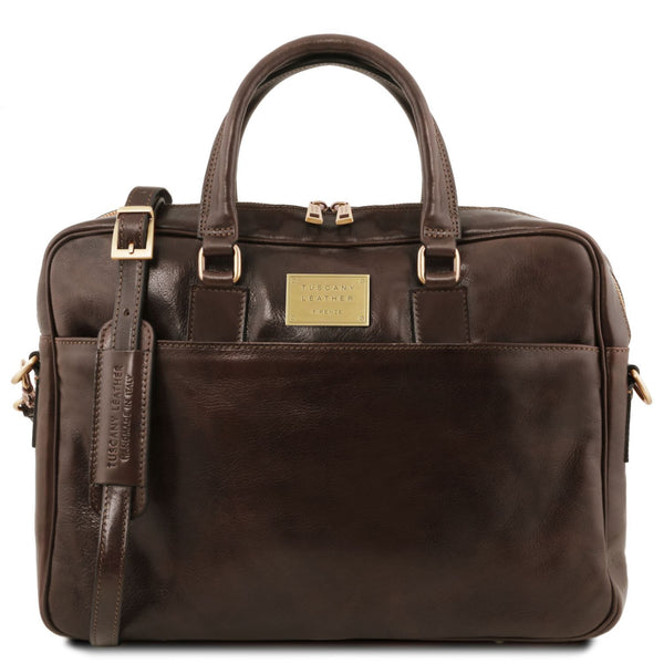 Tuscany Leather 'Urbino' Leather Laptop Carry Briefcase