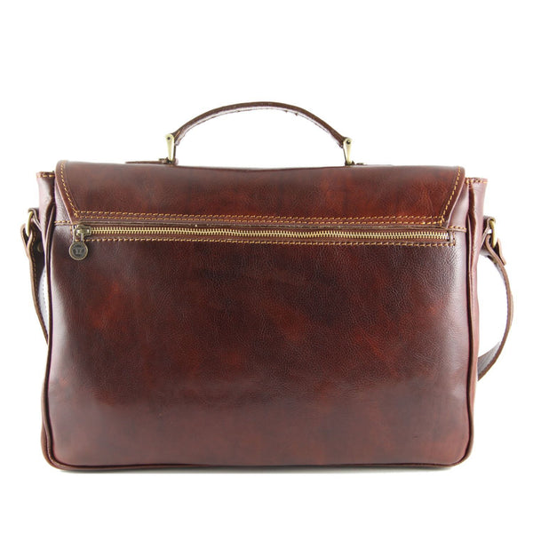 Tuscany Leather 'Padova' Exclusive Leather Laptop Case Laptop Briefcase Tuscany Leather