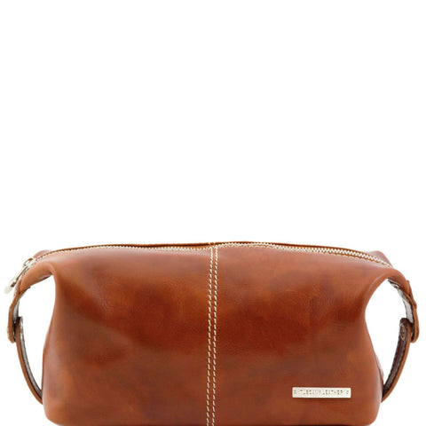 Tuscany Leather 'Roxy' Leather toilet bag