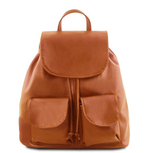 Tuscany Leather Classic 'Seoul' Leather Backpack (Large)