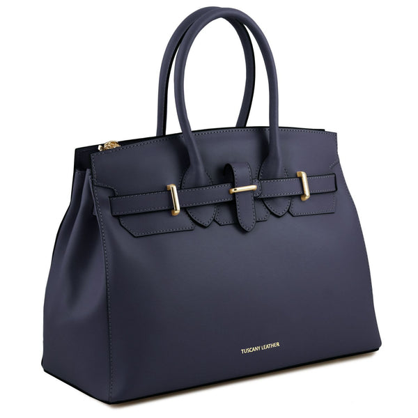 Tuscany Leather 'Elettra' Leather Handbag