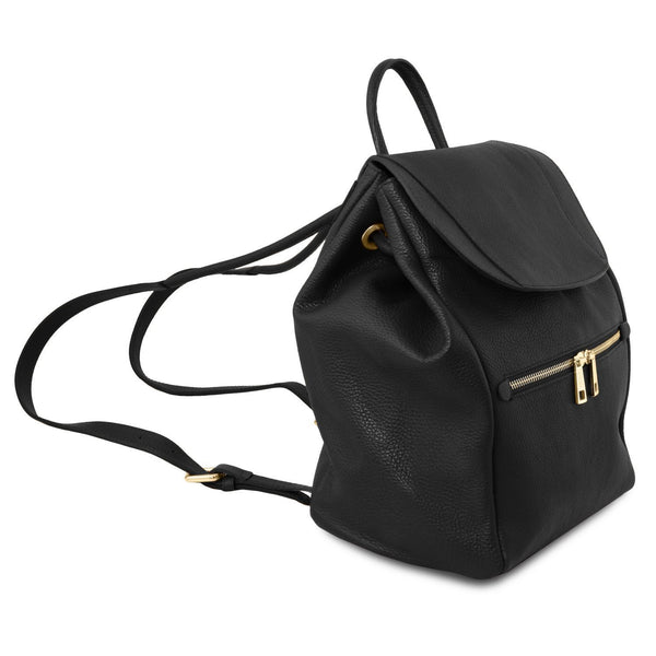 Tuscany Leather Soft Leather Backpack For Women (TL141697) Backpack Tuscany Leather