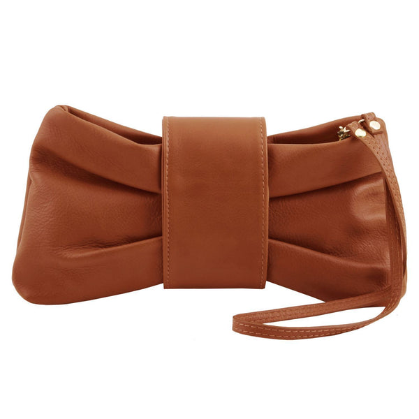 Tuscany Leather TL Bag ' Priscilla ' Clutch Leather Handbag - Special Offer Handbag Tuscany Leather