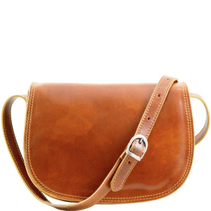 Tuscany Leather 'Isabella' Lady Leather Clutch Bag With Shoulder Strap