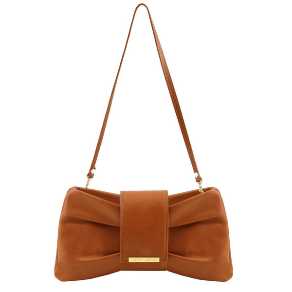 Tuscany Leather TL Bag ' Priscilla ' Clutch Leather Handbag - Special Offer
