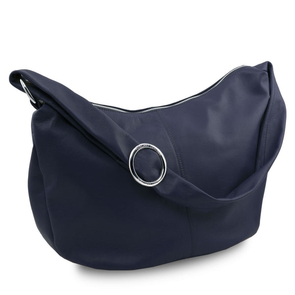 Tuscany Leather 'Yvette' Soft Leather Hobo Bag