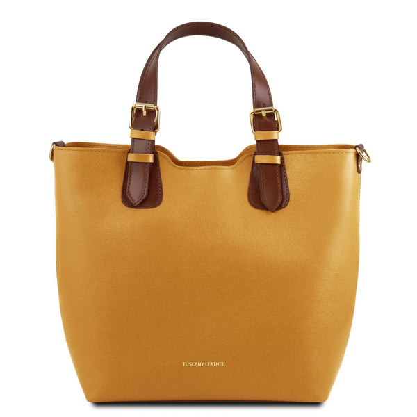 Tuscany Leather 'TL Bag' Saffiano Leather Handbag (TL141696)