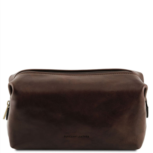 Tuscany Leather 'Smarty' Exclusive Leather Toiletry Bag (Small)