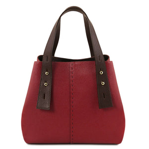Tuscany Leather 'TL Bag' Handbag (TL141730) Handbag Tuscany Leather Red
