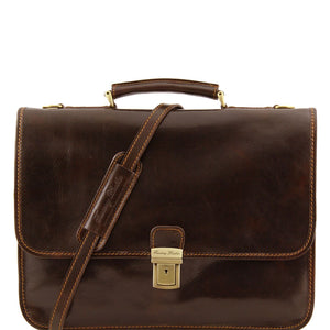 Tuscany Leather  'Torino' Leather briefcase 2 compartments