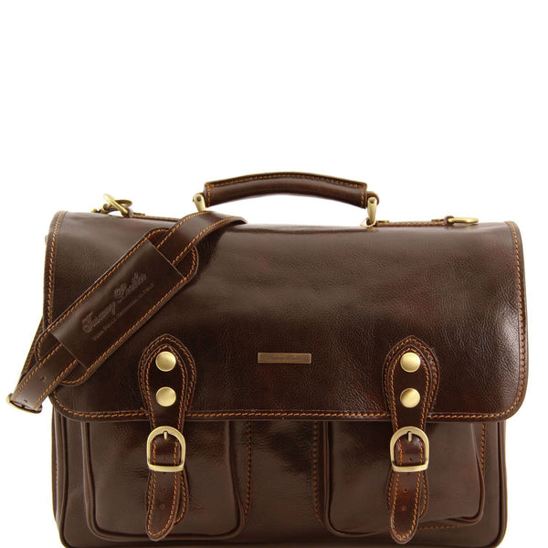 Tuscany Leather 'Modena' Leather Briefcase Laptop Briefcase Tuscany Leather