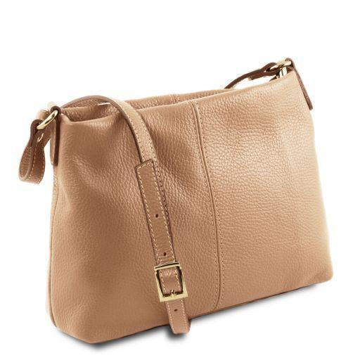Tuscany Leather 'TL Bag' Ladies Soft Leather Shoulder Bag (TL141720) Ladies Shoulder Bag Tuscany Leather