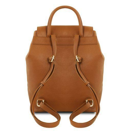 Tuscany Leather 'TL Bag' Women's Soft Leather Backpack (TL141706)