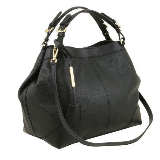 Tuscany Leather 'Ambrosia' Soft Leather Handbag Ladies Shoulder Bag Tuscany Leather