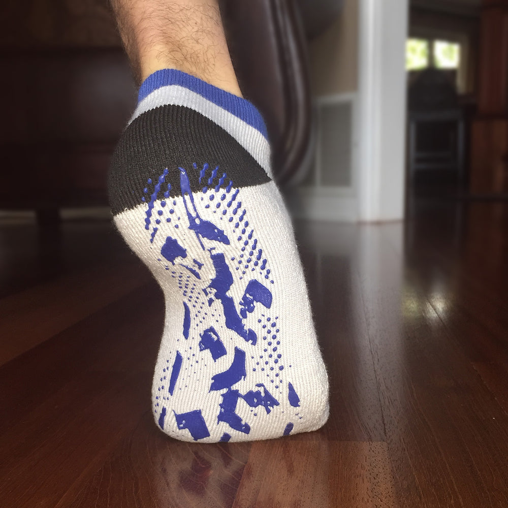 Best Socks for Hardwood or Tile Floors, Yoga, Pilates, or the Hospital - Stay Safe and Keep your Grip!