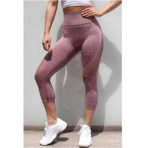 New Hip-lifting Solid Breathable Leggings